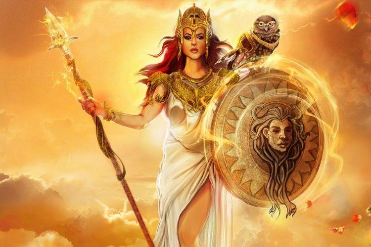 comment la déesse Athéna a marquée l'histoire ?